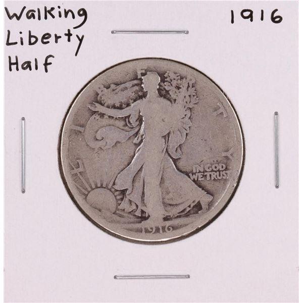 1916 Walking Liberty Half Dollar Coin
