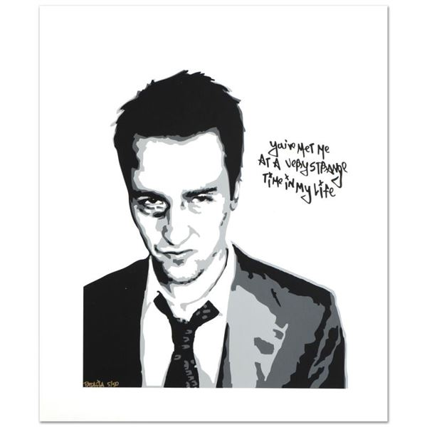 """Padhia Avocado """"You Met Me at a Very Strange Time (Fight Club)"""" Limited Edition Serigraph"""