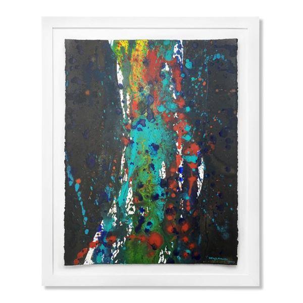 "Wyland ""Nude Splash"" Original Watercolor on Paper"