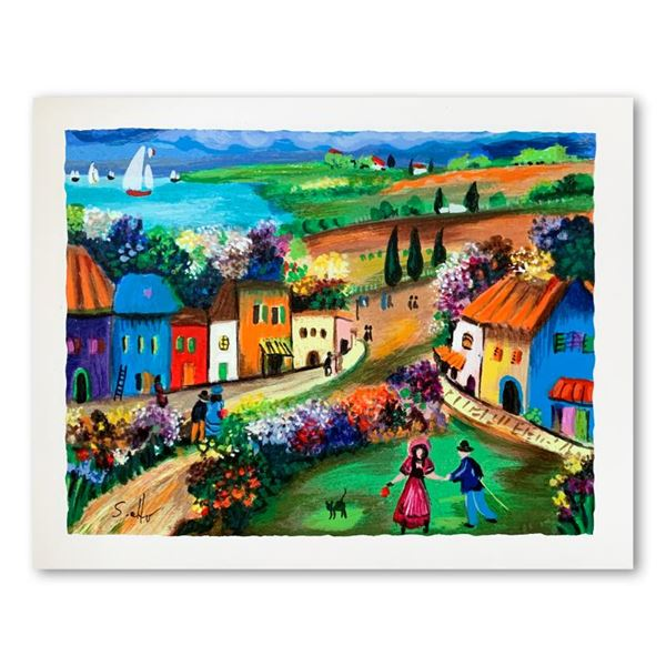 "Shlomo Alter ""The Village"" Limited Edition Serigraph"