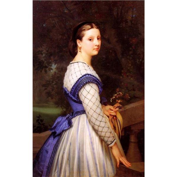 William Bouguereau - The Countess de Montholon