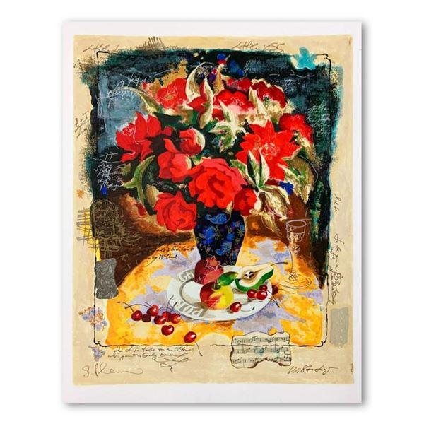 "Alexander Galtchansky (1959-2008) and Tanya Wissotzky (1959-2006), ""Red Flowers"
