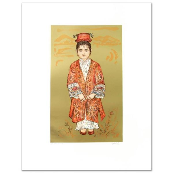 """Sun Ming Tsai of Beijing"" Limited Edition Lithograph by Edna Hibel (1917-2014),"