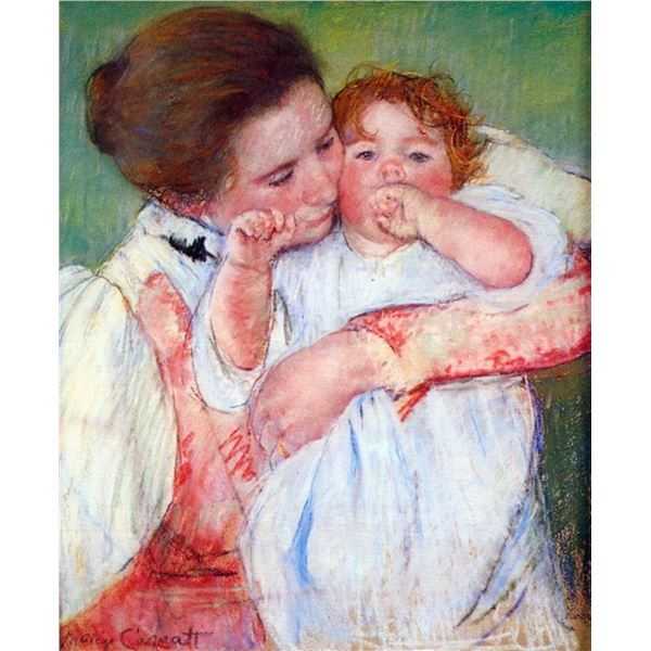 Mary Cassatt - Anne Klein, From The Mother Embraces  Casatt