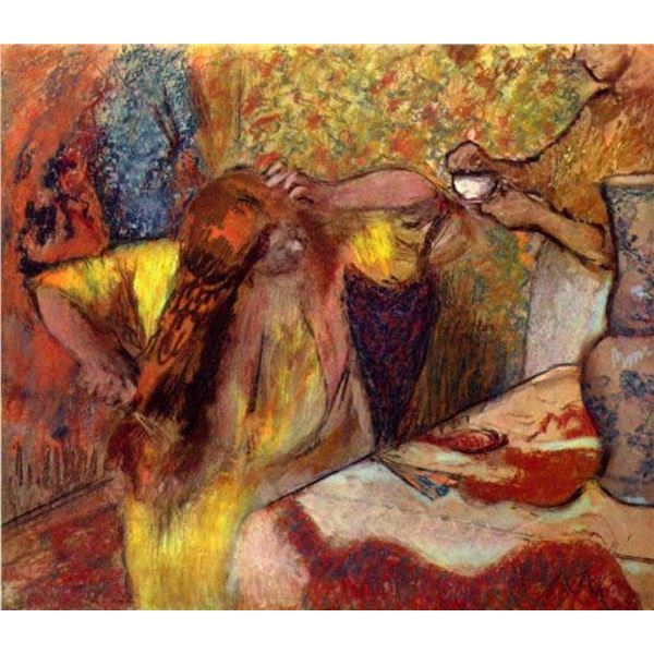 Edgar Degas - Women At The Toilet #1