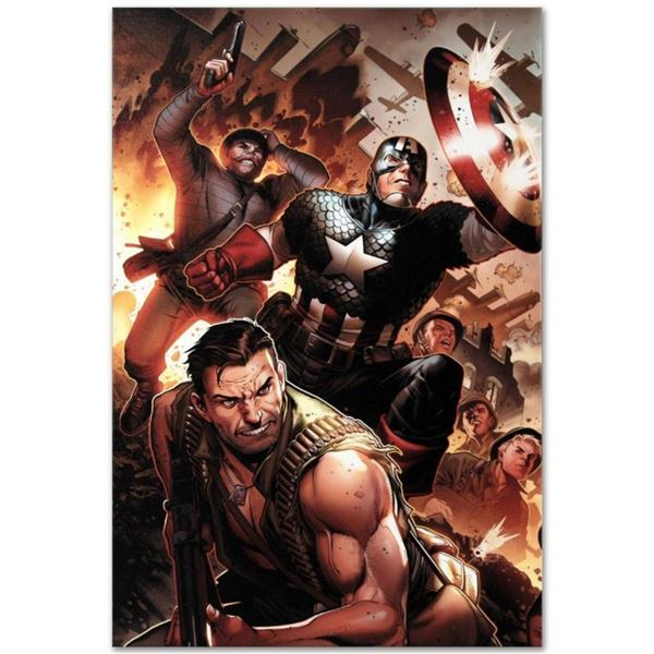 "Marvel Comics ""Secret Warriors #17"" Numbered Limited Edition Giclee on Canvas by"