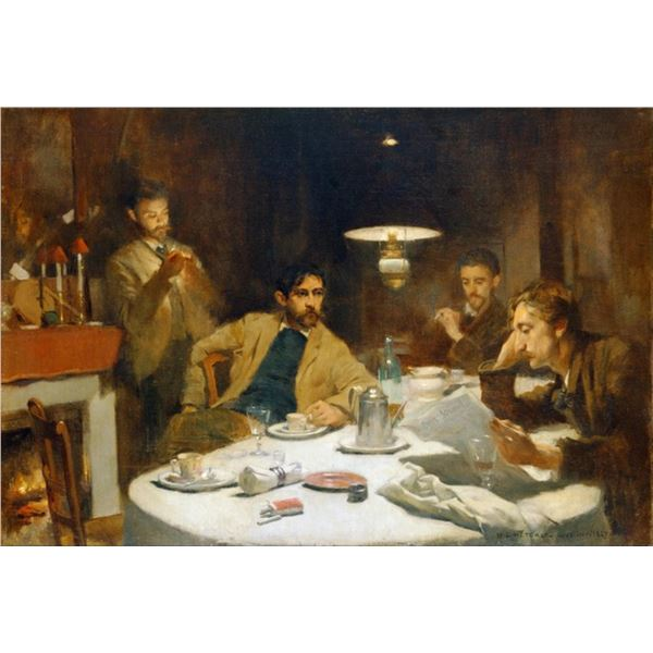 Willard Metcalf - The Ten Cent Breakfast