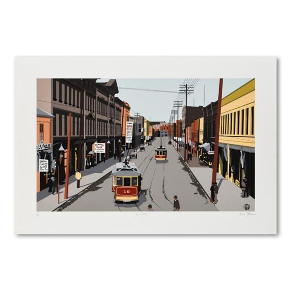"Armond Fields (1930-2008), ""Main Street 1907"" Limited Edition Hand Pulled Origin"