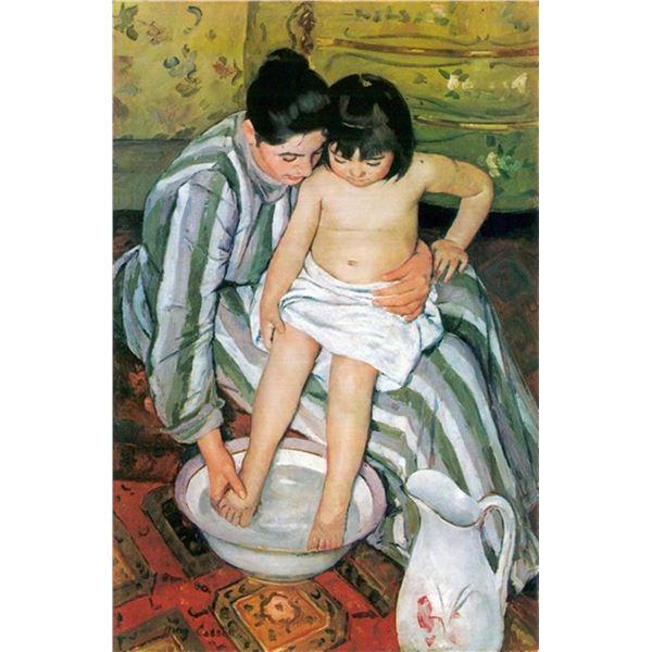 Mary Cassatt - The Bath