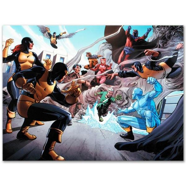 "Marvel Comics ""X-Men Giant-Size #1"" Numbered Limited Edition Giclee on Canvas by"