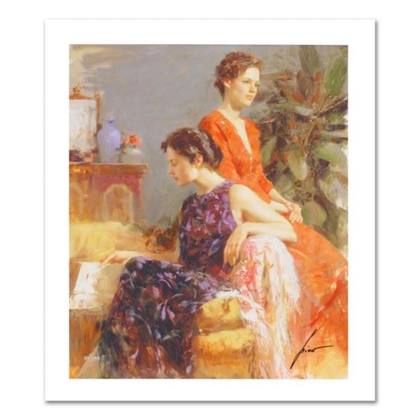 """Pino (1931-2010), """"Lazy Afternoon"""" Limited Edition on Canvas, Numbered and Hand"""