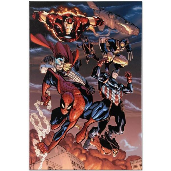 """Marvel Comics """"Amazing Spider-Man #648"""" Numbered Limited Edition Giclee on Canva"""