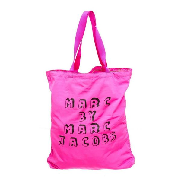 Marc by Marc Jacobs Pink Nylon Brick Bunnies Tote