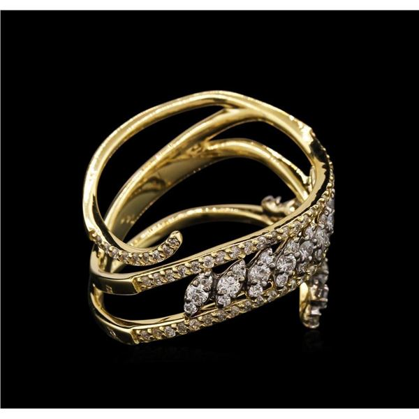 1.07 ctw Diamond Ring - 14KT Yellow Gold