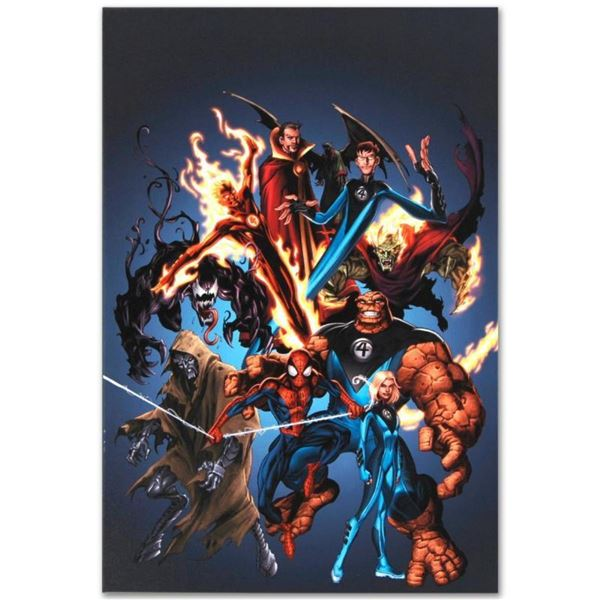 """Marvel Comics """"The Official Handbook of the Marvel Universe: Ultimate Marvel Uni"""