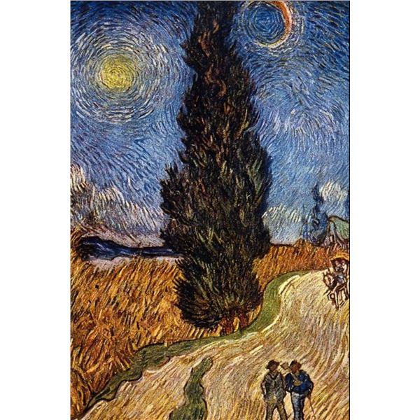 Van Gogh - The Cypress Road