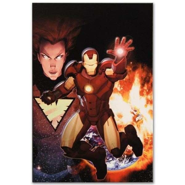 """Marvel Comics """"Iron Age: Alpha #1"""" Numbered Limited Edition Giclee on Canvas by"""