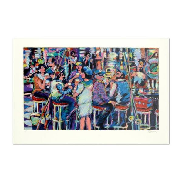 "James Talmadge, ""Bar at the End of the Pier"" Limited Edition Serigraph, AP Numbe"