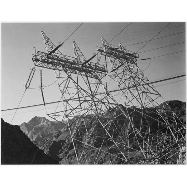 Adams - Boulder Dam Transmission Lines 2