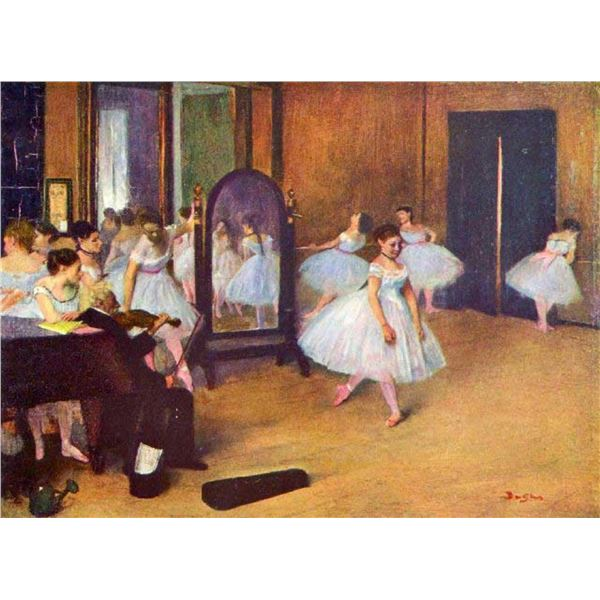 Edgar Degas - The Dance Hall
