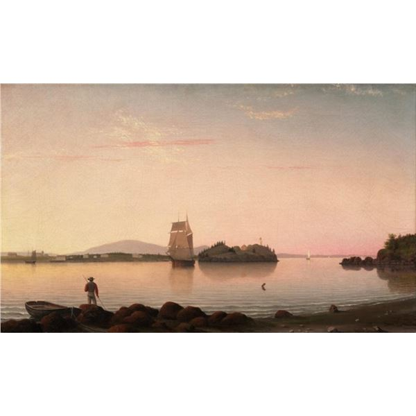 Fitz Henry Lane - Owls Head, Penobscot Bay Maine