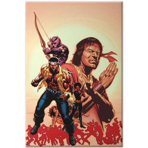 """Marvel Comics """"House of M: Avengers #2"""" Numbered Limited Edition Giclee on Canva"""