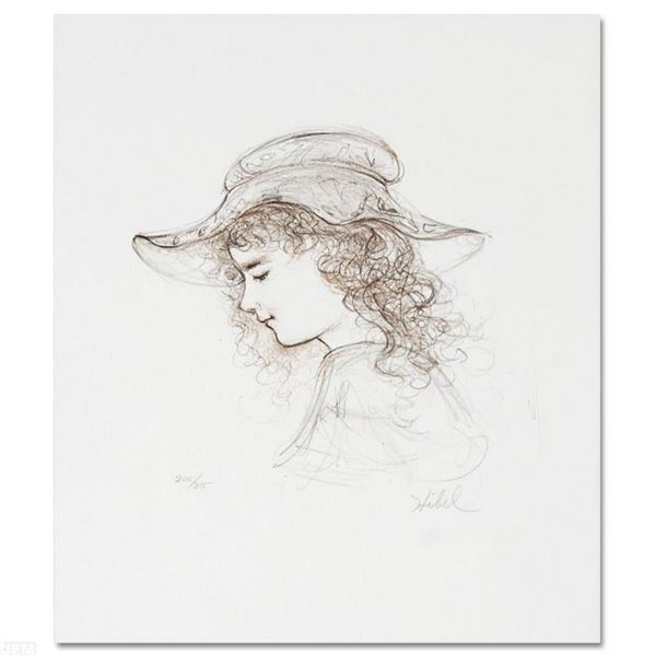 "Hibel (1917-2014), ""Elisabet"" Limited Edition Lithograph, Numbered and Hand Sign"