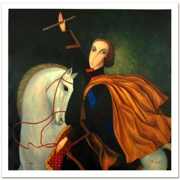 "Sergey Smirnov (1953-2006), ""Peter The Great: Emperor"" Limited Edition Mixed Med"