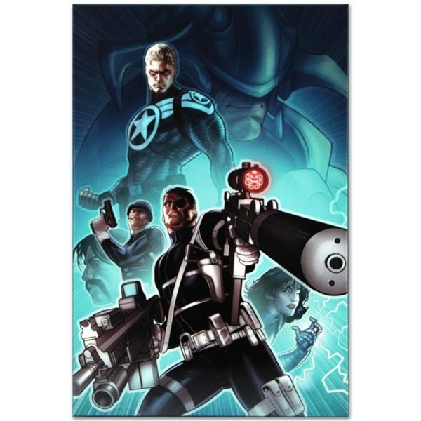 "Marvel Comics ""Secret Warriors #8"" Numbered Limited Edition Giclee on Canvas by"