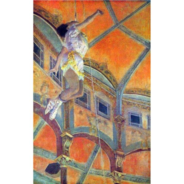 Edgar Degas - Miss Lala In Circus Fernando