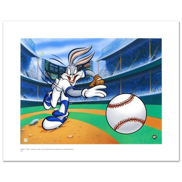 """Fastball Bugs"" Limited Edition Giclee from Warner Bros., Numbered with Hologram"