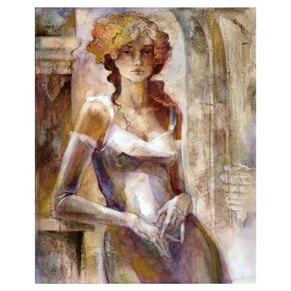 "Lena Sotskova, ""Innocence"" Hand Signed, Artist Embellished Limited Edition Gicle"