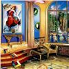 """Image 2 : Alexander Astahov, """"Modern Room"""" Hand Signed Limited Edition Giclee on Canvas wi"""