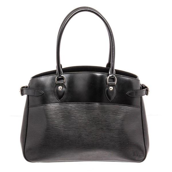 Louis Vuitton Black Epi Leather Passy Shoulder Bag