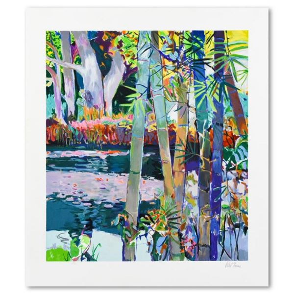 """Robert Frame, """"Jungle Pond"""" Limited Edition Serigraph, Numbered and Hand Signed"""