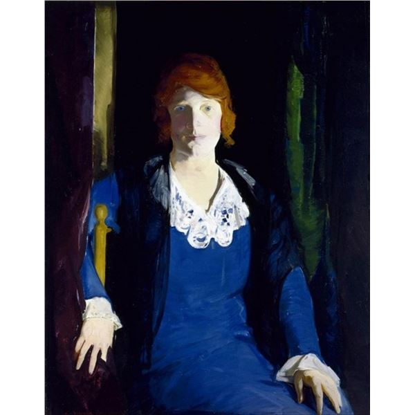 George Bellows - Portrait of Florence Pierce