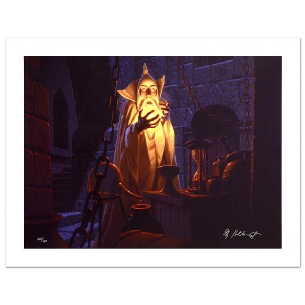 """""""Saruman And The Palantir"""" Limited Edition Giclee on Canvas by The Brothers Hild"""