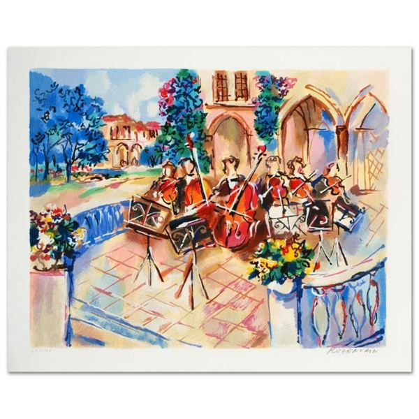 """""""Orchestral Balcony"""" Limited Edition Serigraph by Michael Rozenvain, Numbered an"""