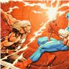 """Image 2 : Marvel Comics, """"Ultimate New Ultimates #4"""" Numbered Limited Edition Canvas by Fr"""