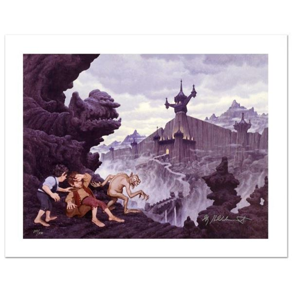 """""""City Of The Ringwraiths"""" Limited Edition Giclee on Canvas by The Brothers Hilde"""