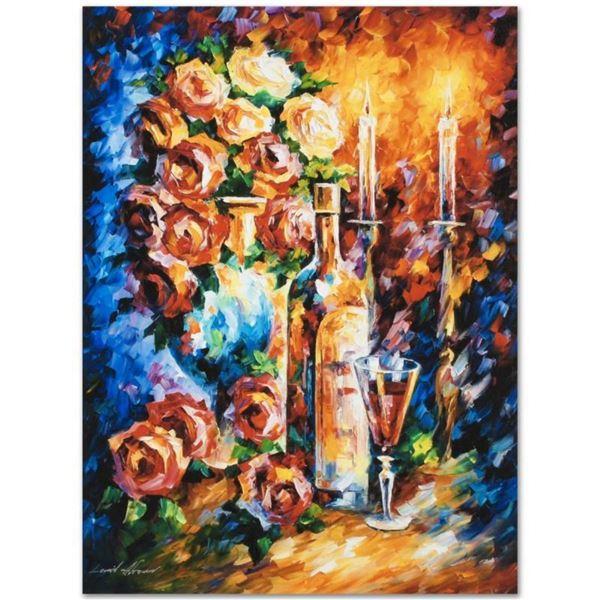 "Leonid Afremov (1955-2019) ""Shabbat II"" Limited Edition Giclee on Canvas, Number"