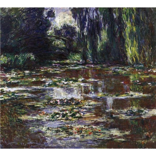 Claude Monet - Water Lilies, Water Landscape #3