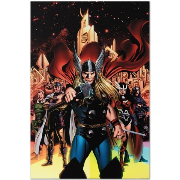 """Marvel Comics """"Thor #82"""" Numbered Limited Edition Giclee on Canvas by Steve Epti"""