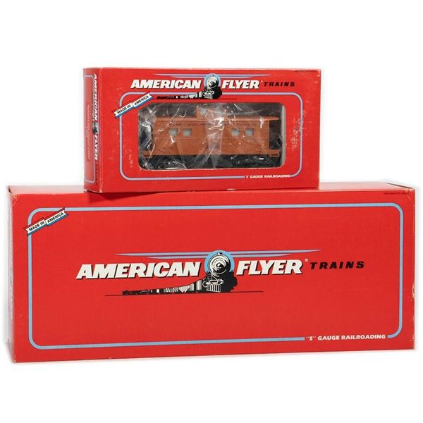 American Flyer by Lionel Milwaukee Road EP5 Loco & Caboose