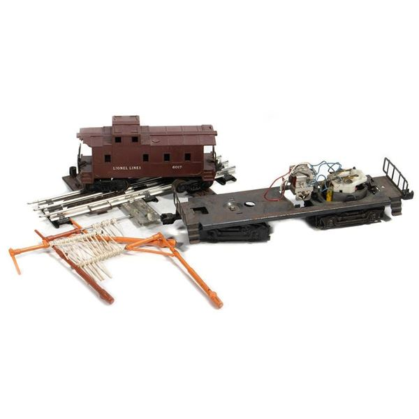 Lionel Diesel Chassis, 6017 Caboose, Tell Tail Track Trips