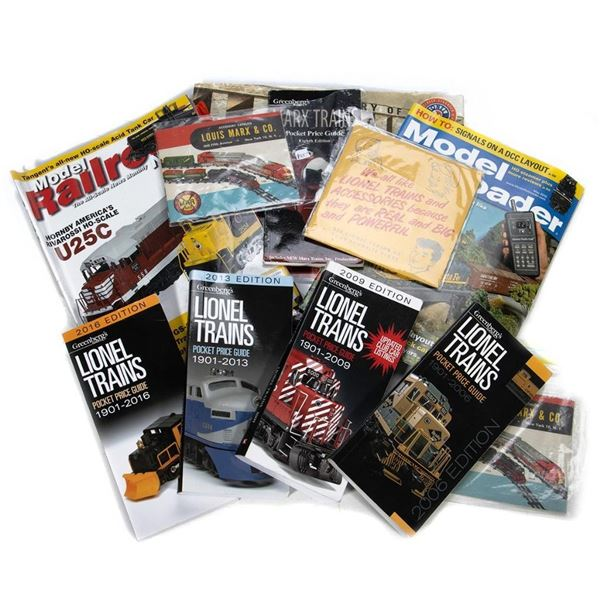 Train Catalogs ,Books and items