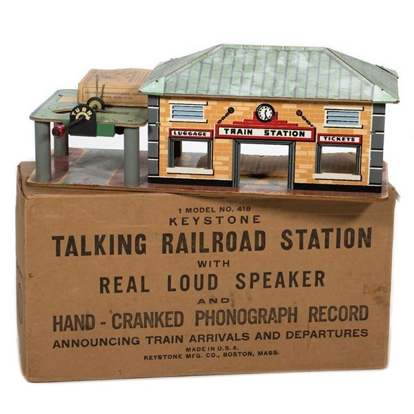 Keystone No 418 Talking Railroad Station