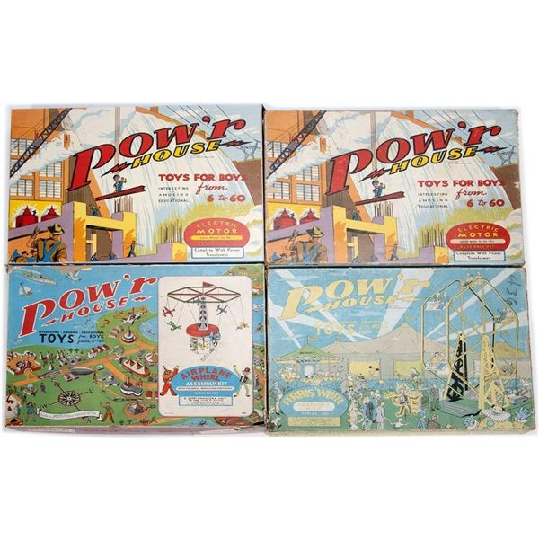 Kelmar Pow'r House Construction Kits (competed with Erector Sets)