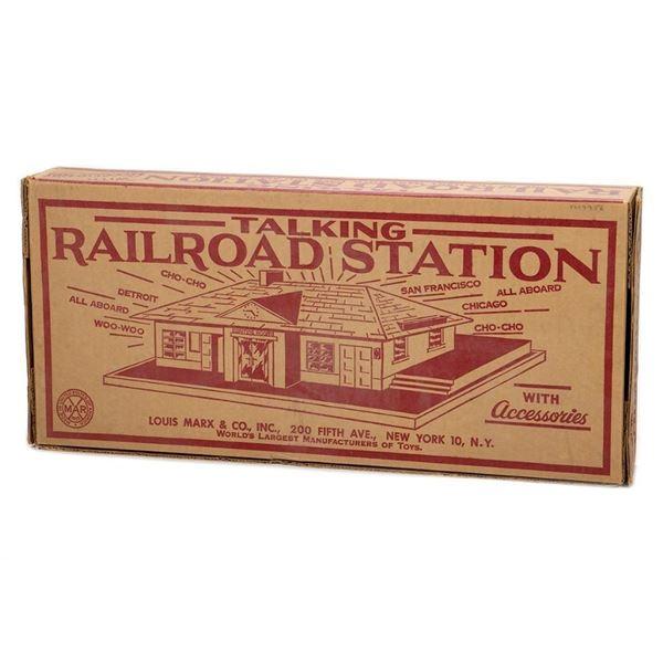 Marx 4418 Talking Railroad Station