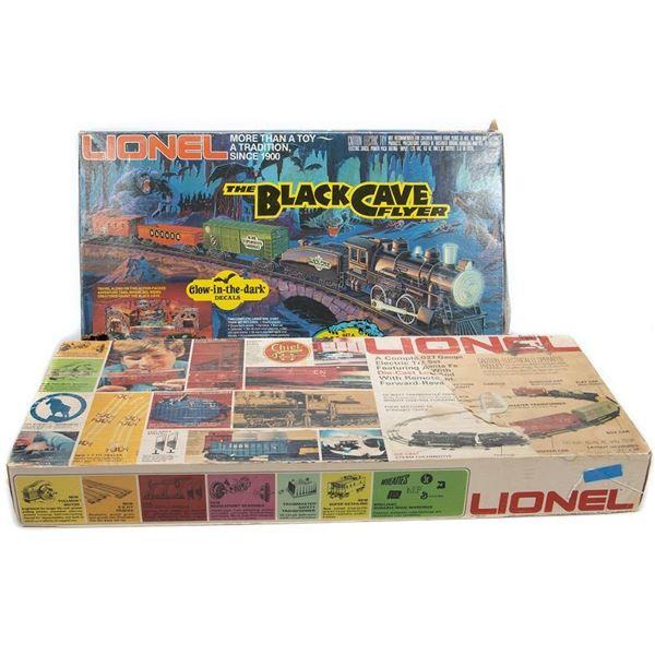 Lionel 6-1254 Black Cave Flyer & 6-1393? Santa Fe Sets